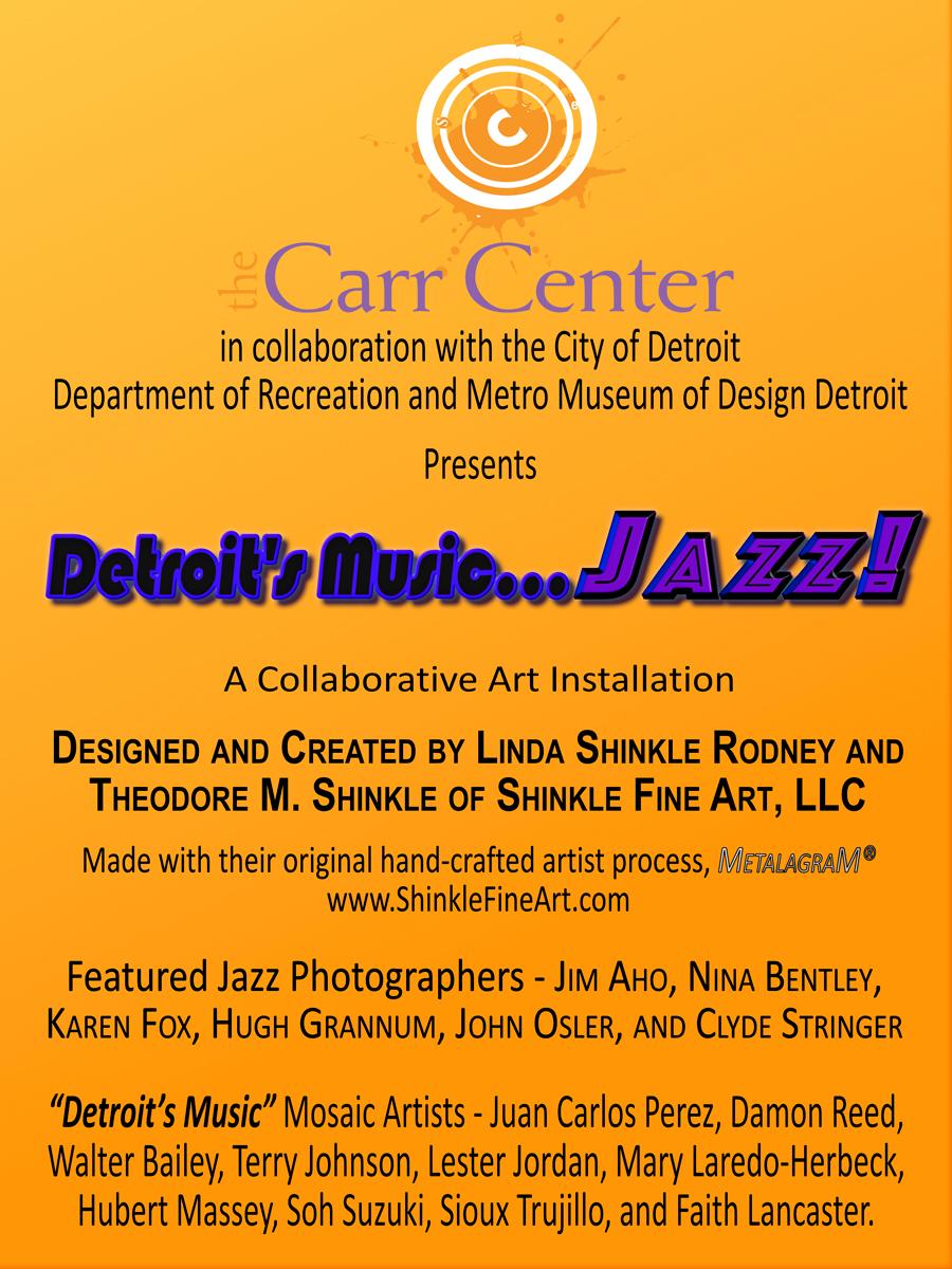 Detroit's Music JAZZ